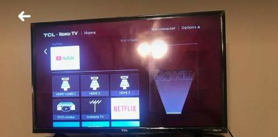"""32"""" roku flat screen smart tv. Remote included"""