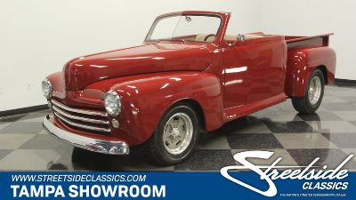 1948 Ford F-1 Convertible Restomod