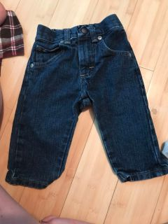 Boys size 12 month jeans