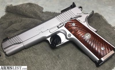 For Sale/Trade: Kimber Classic Stainless Target FS/FT