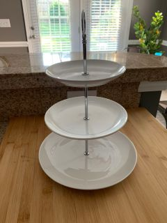 3 tiered tray