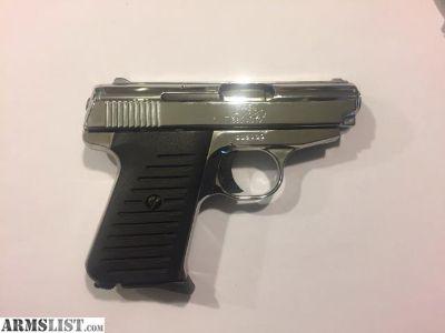 For Sale/Trade: Jimenez JA .380 Nickel finish (High polish)