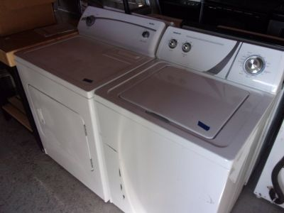 Admiral Washer and Kenmore 400 Dryer