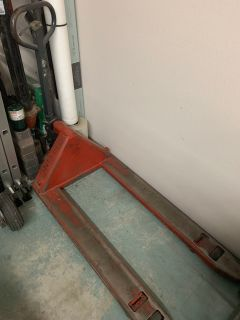Manual standard pallet jack fork truck up to 5500 lbs 48x27