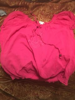 Pink Cato Blouse