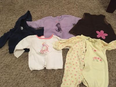 6 Month Winter Clothing