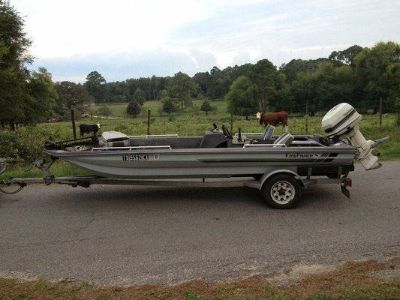 17 Bass Boat (Price Reduced)