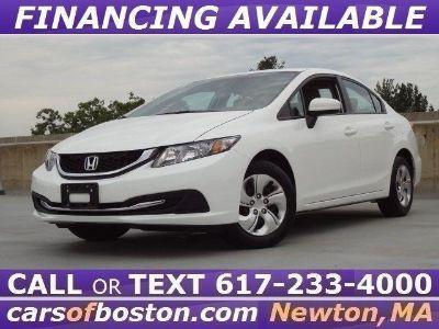2015 Honda Civic LX (Taffeta White)