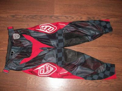 Find TLD TROY LEE DESIGNS SE PRO Pant Size 30 CHECKER GREY motocross mx riding gear motorcycle in Lake Elsinore, California, United States, for US $85.00