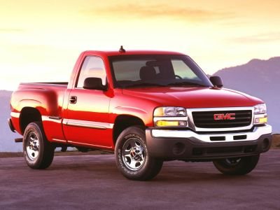 2003 GMC Sierra 1500 Base (Fire Red)