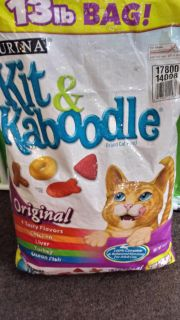 new 13 kit kaboodle. Cat food