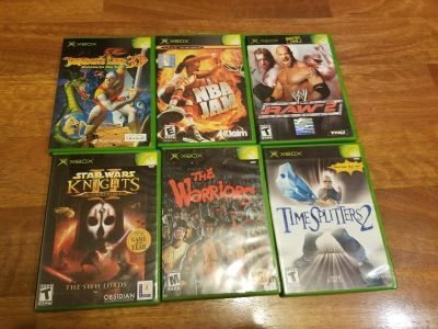 Xbox games - not free, individually priced. READ DESCRIPTION