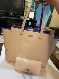 Kate Spade tote with wallet