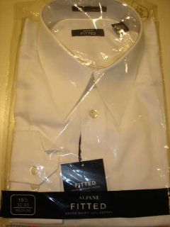***MEN'S DRESS SHIRTS NWT--FITTED SZ 15 1/2 32x33--HALF PRICE***