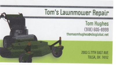 LAWNMOWER AND SMALL ENGINE REPAIR