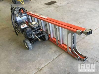 Lot of (1) Mi-T-M JP-2403-3MHB Pressure Washer & (1) Ladder