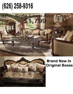 3PC. SOFA LOVE AND CHAIR