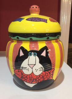 Cat Treat Canister