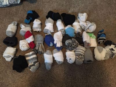 Boys socks for ages 2-4 ish