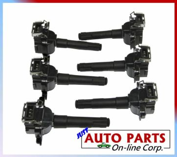 Sell SET OF 6 IGNITION COILS AUDI A6 QUATTRO 00-03 V6 2.7L A8 QUATTRO S4 00-02 2.7L motorcycle in Miami, Florida, US, for US $142.99