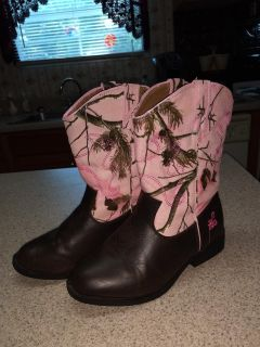 RG Girl's Boots size 4 m