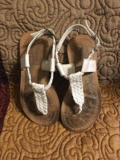 Girls Ehote Braided Sandals Sz 6 by Academie Studio Swap Only
