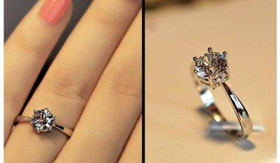Women s Sterling Silver Fashion Ring