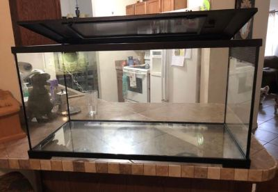 40 gallon reptile tank