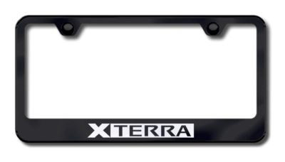 Sell Nissan Xterra Laser Etched License Plate Frame-Black Made in USA Genuine motorcycle in San Tan Valley, Arizona, US, for US $34.49