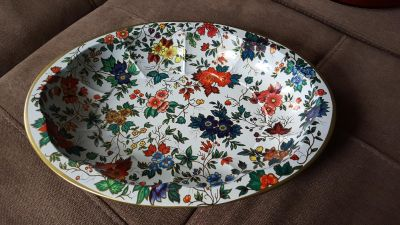 Vintage Daher Decorated Ware tin tray