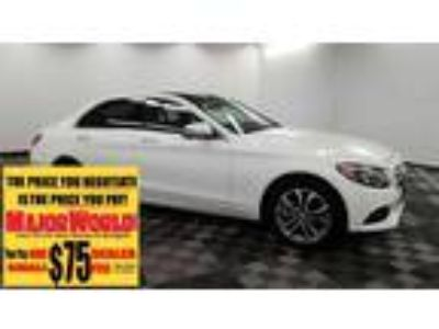 $25800.00 2016 MERCEDES-BENZ C-Class with 35599 miles!