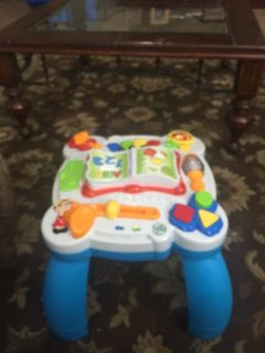 Leap Frog Activity Table