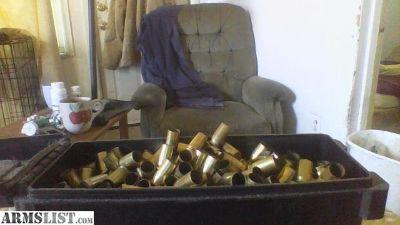 For Sale: 45 acp brass ,38 special brass
