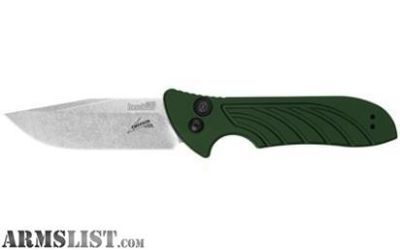 For Sale: Kershaw Emerson Launch 5 Exclusive SW/PL OLIVE DRAB SCALES KNIFE 3.4 7600OL