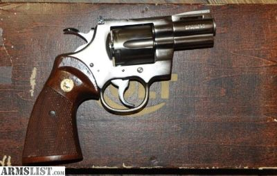 "For Sale: Colt Python 2"" Electroles Nickel"