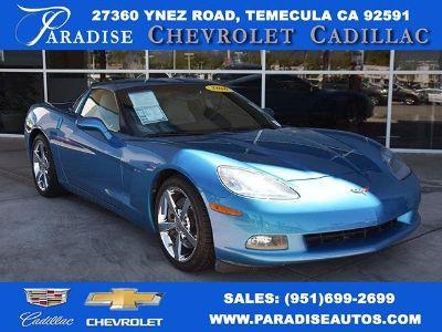 2010 Chevrolet Corvette Base (Jetstream Blue Metallic Tintcoat)