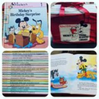Mickey's Young Readers Library Set