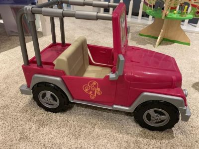 Next Generation Jeep for 18 doll