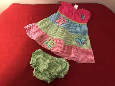 Super Cute Youngland Two Piece Outfit. Size 12 Months. EUC