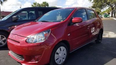 2015 Subaru Mirage DE (Red)