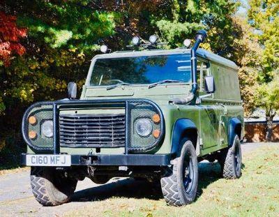 1986 Land Rover Defender 110 Hardtop