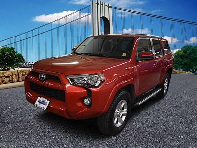 2016 Toyota 4Runner SR5 (Barcelona Red Metallic)