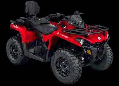 2018 Can-Am Outlander MAX 450 Utility ATVs Lancaster, NH