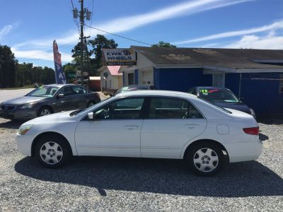 2005 Honda Accord LX (White)