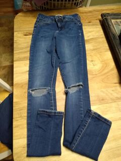 Cute forever 21 jeans,sz girls 24