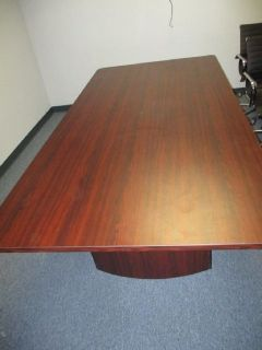 Mahogany Conference Table (No Chairs Included) RTR#7053063-03