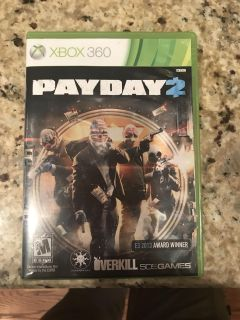 Xbox 360 game - pay day