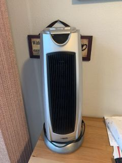 Tower heater and fan