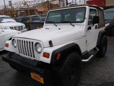 1998 Jeep Wrangler 2.5 (White)