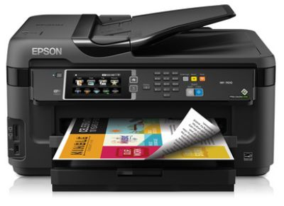 Epson WorkForce WF-7610 All-in-One Printer - Factory Refurbished ***IN BOX - NEVER USED***